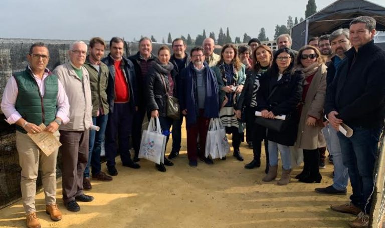 La Ruta de Blas Infante realiza una visita oficial a la fosa de Pico Reja en Sevilla, donde está enterrado el Padre de la Patria Andaluza