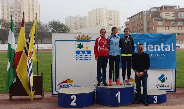 Exito de los atletas isleños en el Andaluz de Lanzamientos Largos celebrado en la localidad