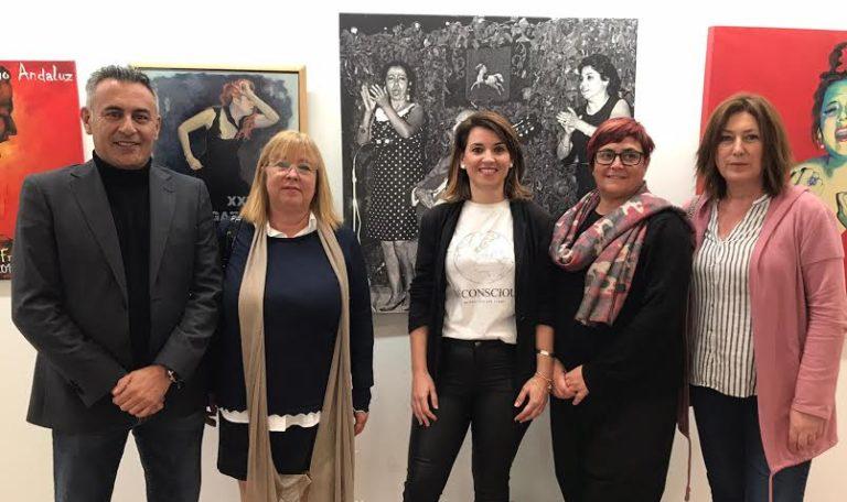 La exposición 'Femenino Singular' abre el programa de actos del 8M en Isla Cristina