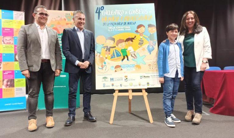 Presentado el Cartel del IV Encuentro Provincial de Consejos Locales y Adolescencia que se celebrará en Isla Cristina