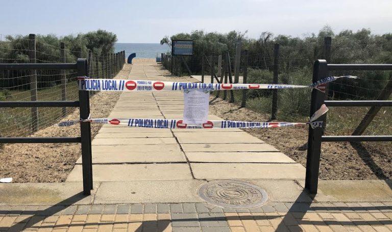 Islantilla cierra playa y espacios públicos como prevención contra el coronavirus