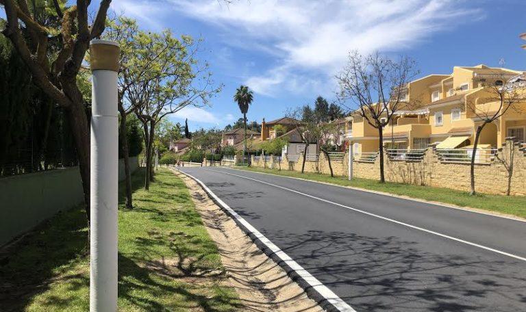 Proyecto de mejora y eficiencia energética del alumbrado público de todo el enclave de Islantilla