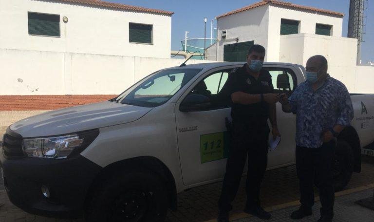 El Ayuntamiento recepciona un nuevo vehículo destinado al a vigilancia de las playas