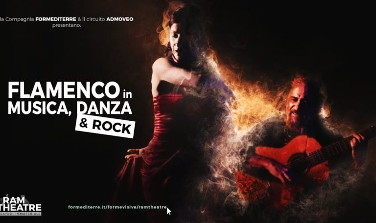 FLAMENCO en Música, Danza & Rock en streaming para el proyecto RAM Theatre