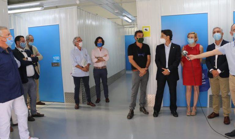 Inauguración en Huelva de Necesito un Trastero