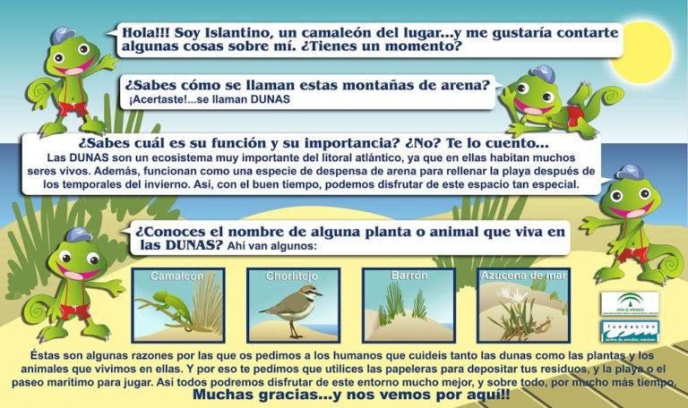 Acciones de sensibilización ambiental en Islantilla