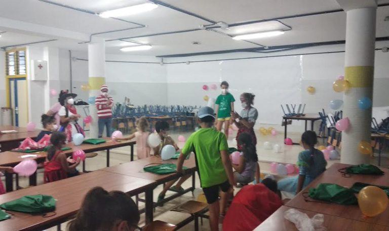 Una fiesta de disfraces pone el punto y final al Campamento de Garantía Alimentaria puesto en marcha por el Ayuntamiento de Isla Cristina
