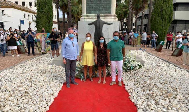 Isla Cristina, presente en el acto- homenaje que conmemora el 84 Aniversario del fusilamiento de Blas Infante