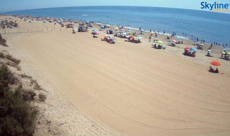 Nueva webcam en vivo instalada en la playa de Islantilla