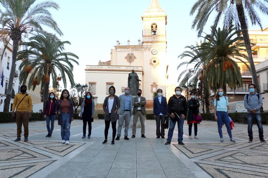 Llegan a Huelva alumnos del máster 'Erasmus Mundus' para estudiar 'clima y sostenibilidad urbana'