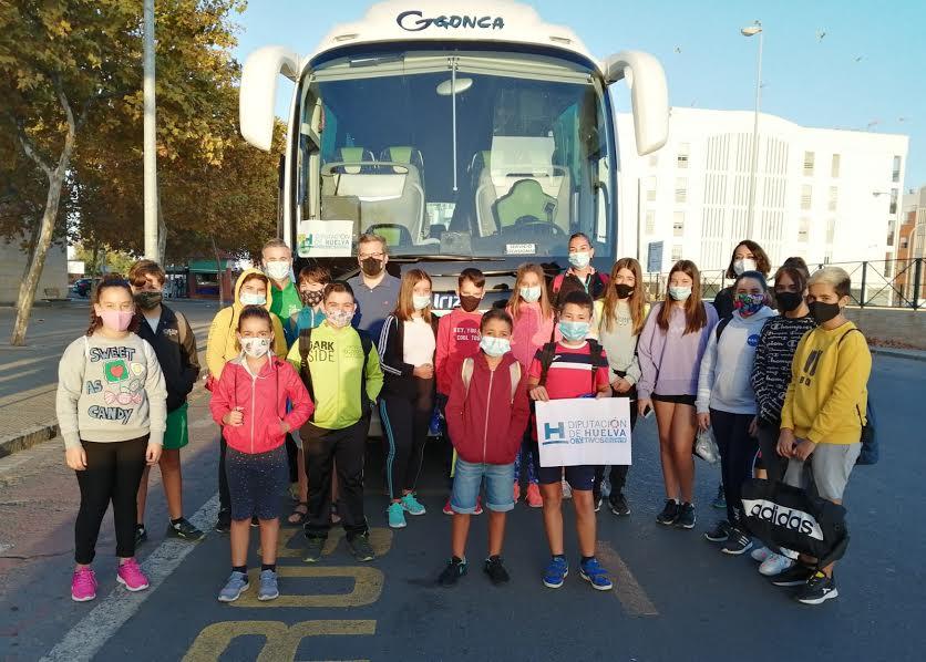 El CLIA de Isla Cristina disfruta de una salida a la Ribera Grande del Guadiana