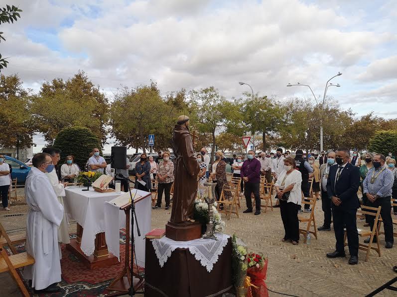 Isla Cristina celebra la onomástica de San Francisco de Asís