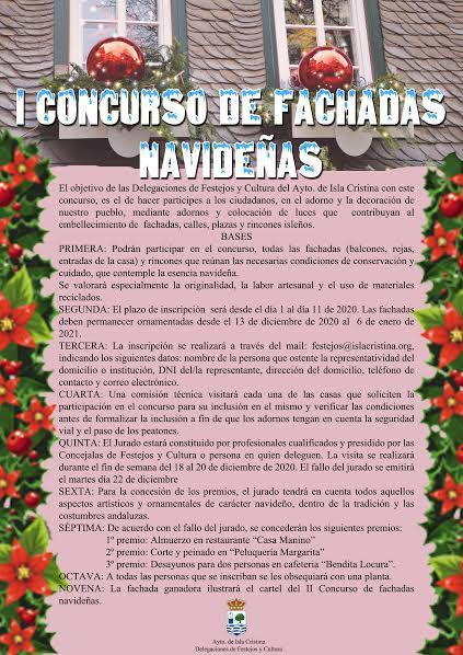 El Ayuntamiento convoca el I Concurso de Fachadas Navideñas