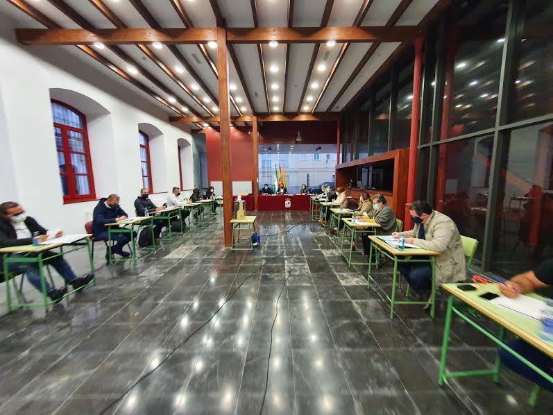 Celebrado el Pleno correspondiente al mes de noviembre en el Ayuntamiento de Isla Cristina