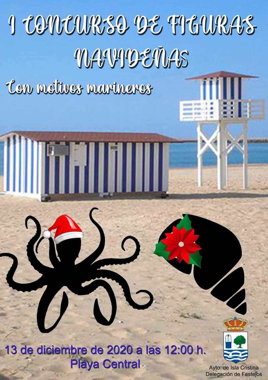 I Concurso de figuras navideñas con motivos marineros