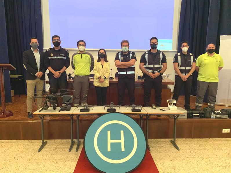 Isla Cristina de nuevo presente en las II Jornadas de Andalucía de Uso de Drones en situaciones de emergencia