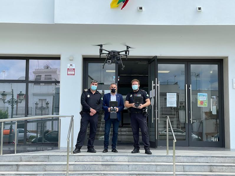 la Unidad Hermes de Isla Cristina inicia pruebas de formación y perfeccionamiento con aeronaves no tripuladas