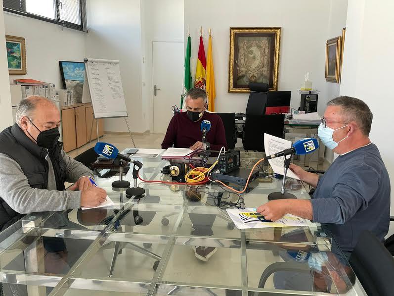 El Equipo de Gobierno hace balance del año de Pandemia en Radio Isla Cristina