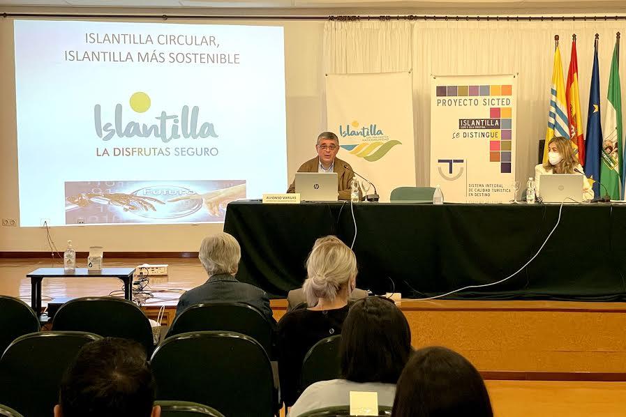 Jornada sobre Economía Circular en el Sector Turístico en el centro de formación CEFO de Islantilla