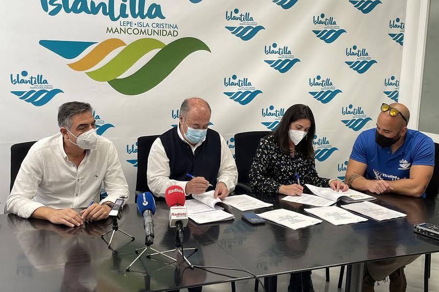 Firma del Convenio Colectivo del Personal Laboral de la Mancomunidad de Islantilla