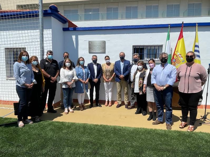 Inaugurada la obra del campo de Fútbol de la Punta del Caimán