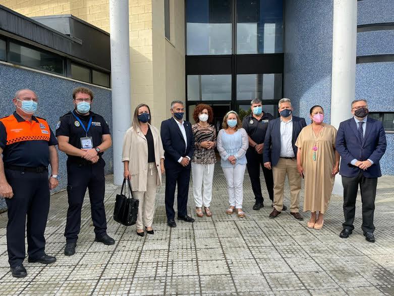 Inauguradas las I Jornadas de Emergencias con UAS de Andalucía que se desarrollan en Isla Cristina