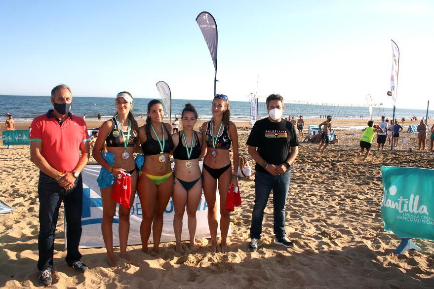 El XXIII Circuito Provincial de Voley Playa arranca en Islantilla