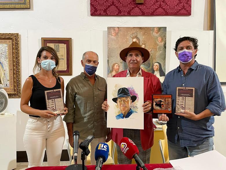 El polifacético artista isleño Augusto Thassio presenta su libro sobre Miguel Hernandez en Isla Cristina
