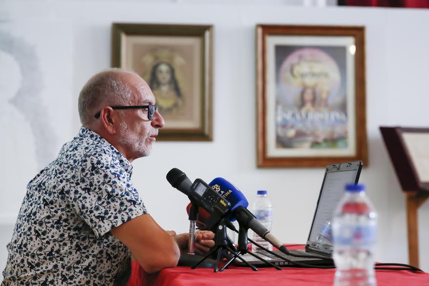 Las Fiestas del Carmen, protagonistas de la conferencia de Vicente López Márquez en los 'Martes Culturales'