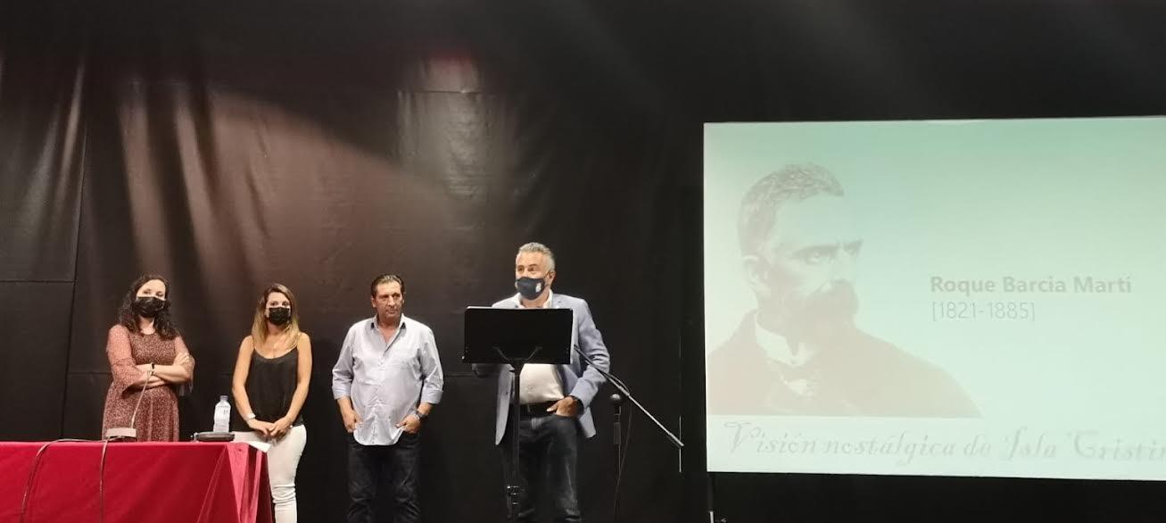 Una investigación de Juan Venegas sobre un documento de Roque Barcia centra le Acto Literario dedicado al político, filósofo y escritor isleño