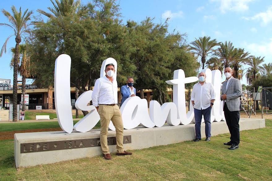 Inauguración del nuevo punto de encuentro y photocall selfie de Islantilla