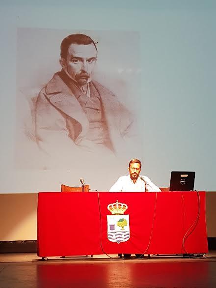 Una ponencia de Agustín P. Figuereo sobre la sociedad isleña en tiempos de Roque Barcia marca el inicio de las Jornadas Académicas sobre el Bicentenario del nacimiento del insigne personaje isleño