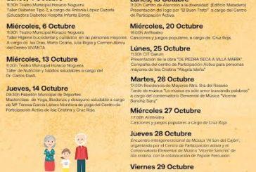 Isla Cristina dedica un año más el mes de octubre al colectivo de mayores de la localidad