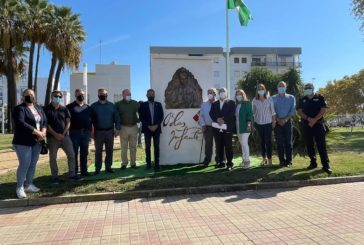 La Concejalía de Turismo inaugura un monolito dedicado a Blas Infante